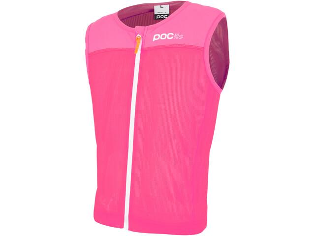 POC POCito VPD Spine Vest Kinder fluorescent pink